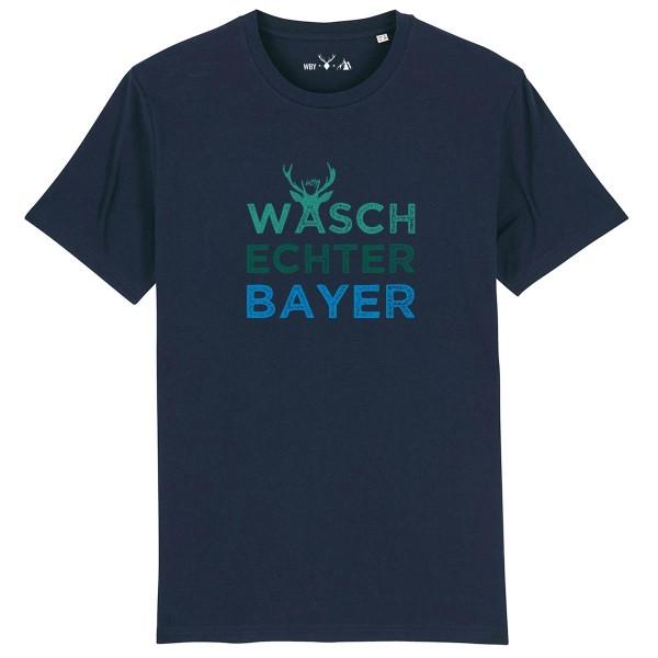 Herren Shirt Rundhals   Fair Wear   BIO   Motiv: Logo-Bert
