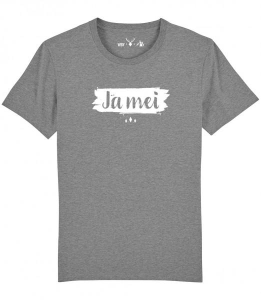 Herren Shirt Rundhals | Fair Wear | BIO | Motiv: JA MEI
