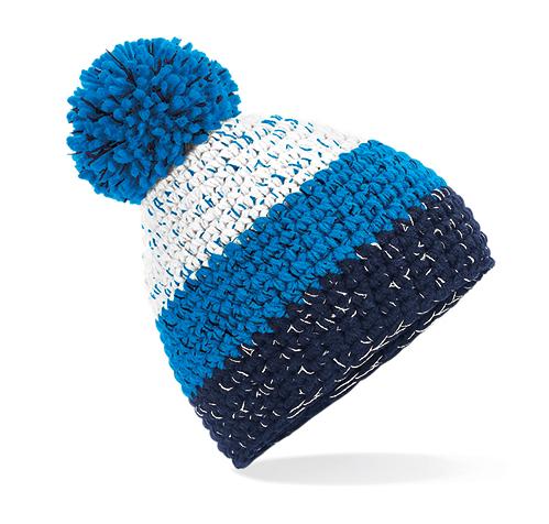 Herren Bommelmütze in frischen Farben | Fleeceband Modell: 3Color