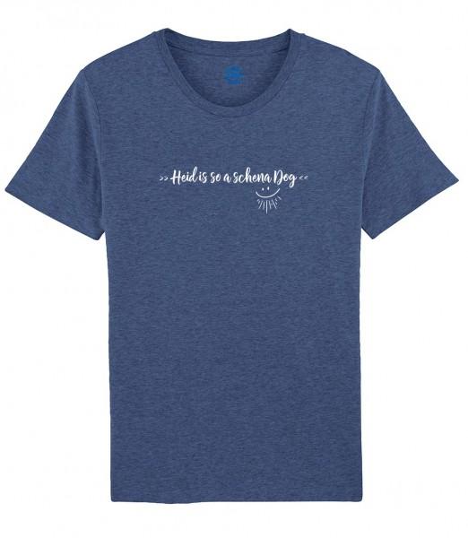 Herren Shirt Rundhals   Fair Wear   BIO   Motiv: So a scheena Dog