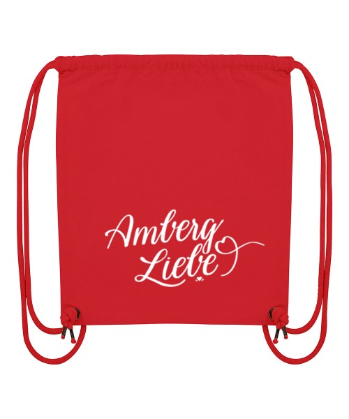 Beuteltasche | Gym Bag | Turnbeutel | Fair Wear | Nachhaltig | Motiv: Amberg Liebe