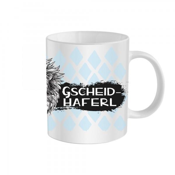 Tasse Gscheidhaferl - Individualisierbar