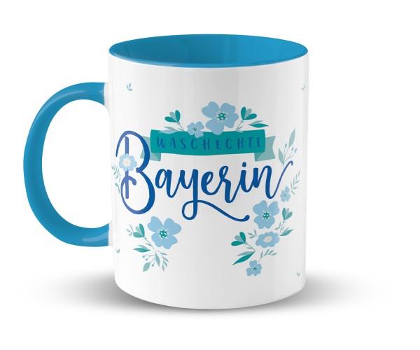 Kaffeetasse Blumenmaid | Bedruckt Wunschname