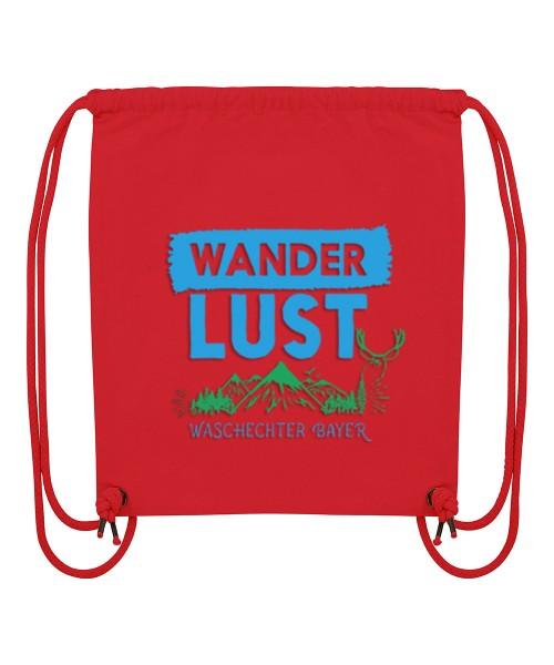 Beuteltasche | Gym Bag | Turnbeutel | Fair Wear | Nachhaltig | Motiv: Wanderlust