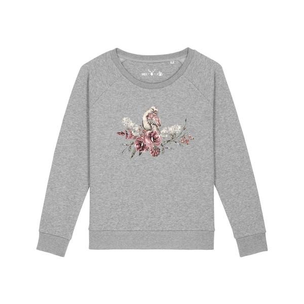 Pullover | Fair Wear | BIO | Motiv: Kauz-Frida