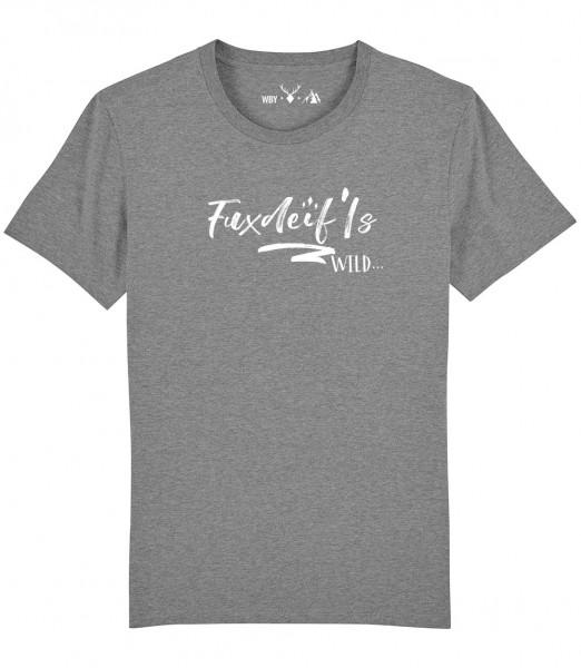 Herren Shirt Rundhals   Fair Wear   BIO   Motiv: Fuxdeiflswild