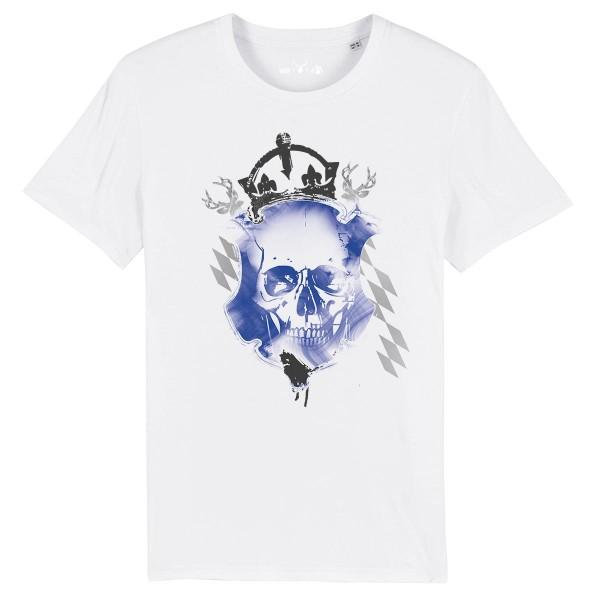 Herren Shirt Rundhals | Fair Wear | BIO | Motiv: König der Wiesn