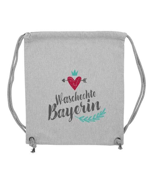 Beuteltasche | Gym Bag | Turnbeutel | Fair Wear | Nachhaltig | Motiv: City Madl