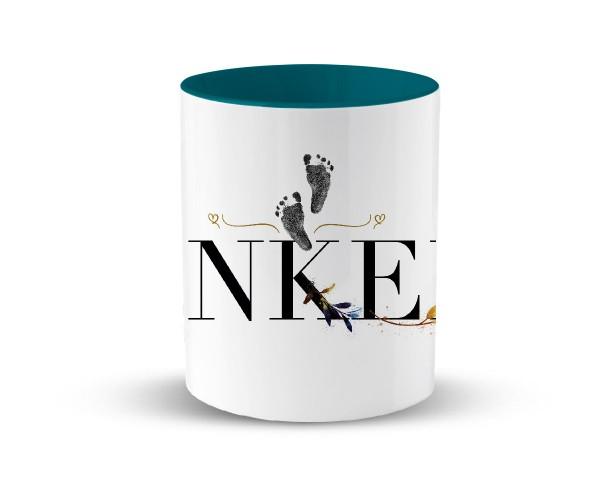 Tasse Keramik Geschenk | in 2 Farben | Motiv: Coolster Onkel