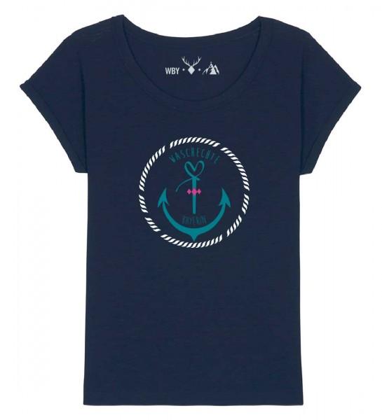 Shirt | weiter geschnitten | Fair Wear | BIO | Motiv: Anker