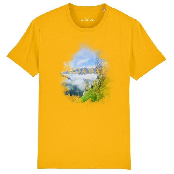 Herren Shirt Rundhals | Fair Wear | BIO | Motiv: Hoamat