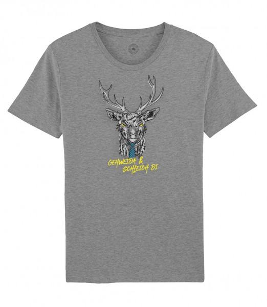 Herren Shirt Rundhals | Fair Wear | Motiv: Gehweida