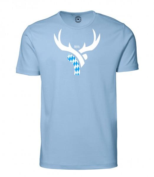 Herren Rundhals Shirt | Kurzarm – Interlock Jersey Motiv: Bayern Daniel