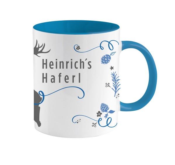 Traditionelles bayerisches Kaffe-Haferl | Personalisiert