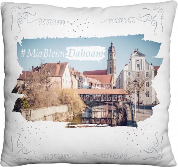 Kissen #MiaBleimDahoam | Bedruckt | Amberg