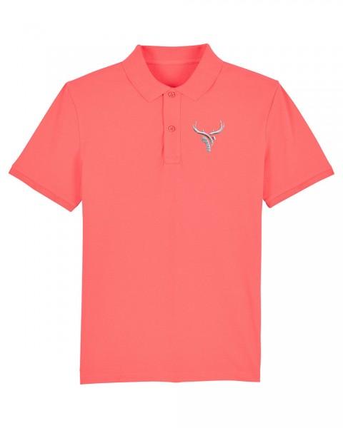 Herren Poloshirt >>bestickt>> Fair Wear | Motiv: Stickung Motiv einfarbig
