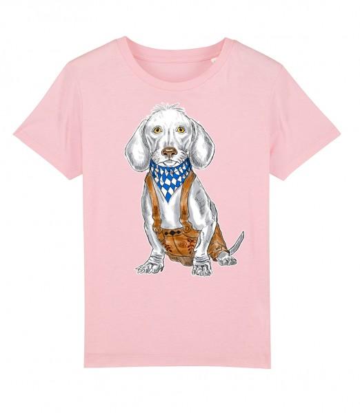 Shirt für Jungs & Mädels | Unisex-Schnitt | Fair Wear | Motiv: Dackel-Lui