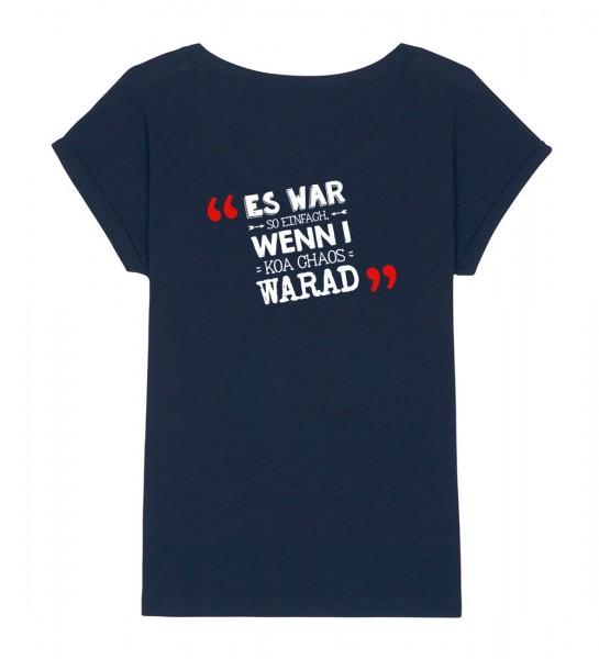 Shirt | weiter geschnitten | Fair Wear | BIO | Motiv: Chaos