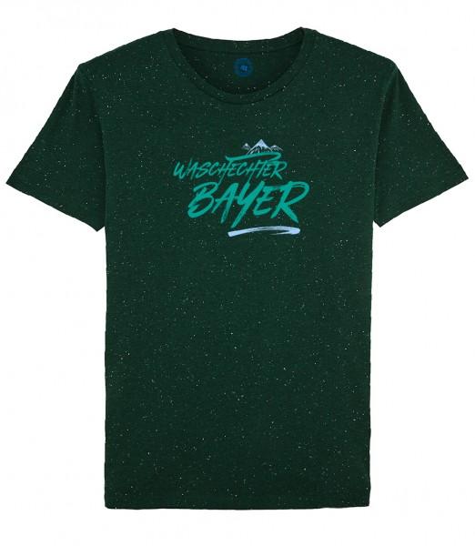 Herren Shirt Rundhals   Fair Wear   Motiv: Bayern Berg