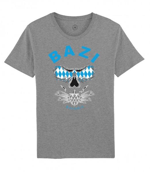 Herren Shirt Rundhals   Fair Wear   Motiv: Bazi