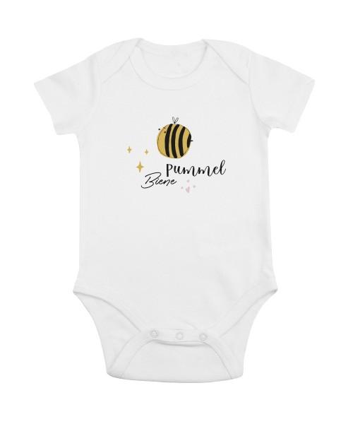 Baby-Bio-Body kurzarm Motiv: Pummelbiene