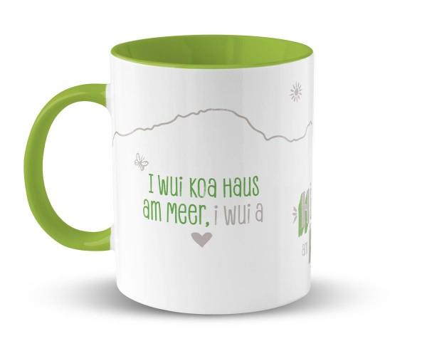 Kaffeetasse Hüttn am Berg | Bedruckt | Personalisiert |