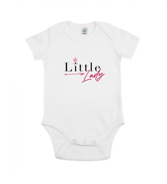 Veganer Baby-Bio-Body Motiv: Little Lady
