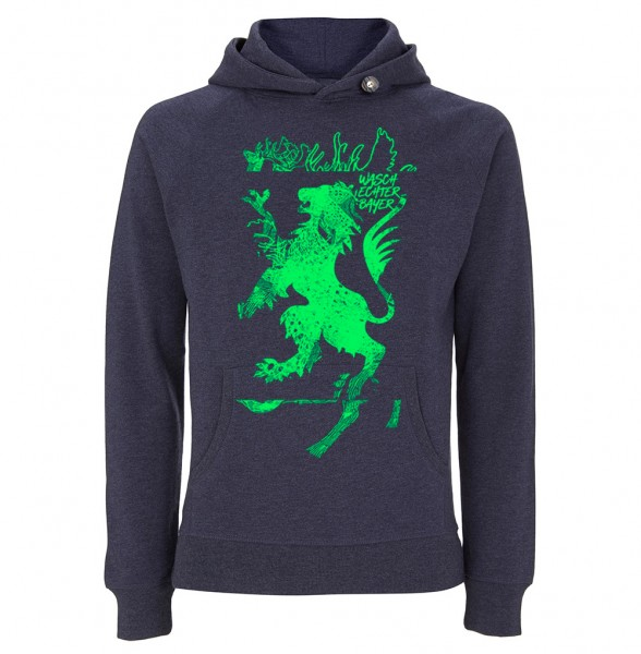 Trachtenhoodie Herren (Unisex) | Fair Wear | Motiv: Rehbock