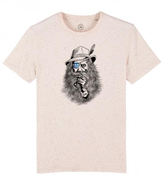 Herren Shirt Rundhals | Fair Wear | BIO | Motiv: Seppl-Peter
