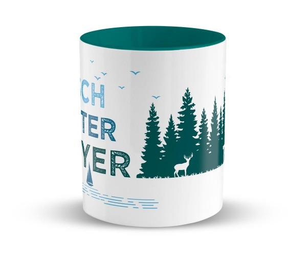Waschechter Bayer Tasse Personalisiert