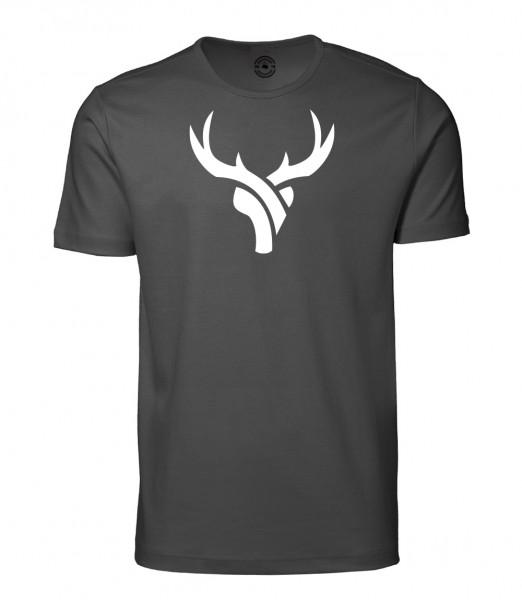 Herren Rundhals Shirt | Kurzarm – Interlock Jersey Motiv: Daniel-Hirsch