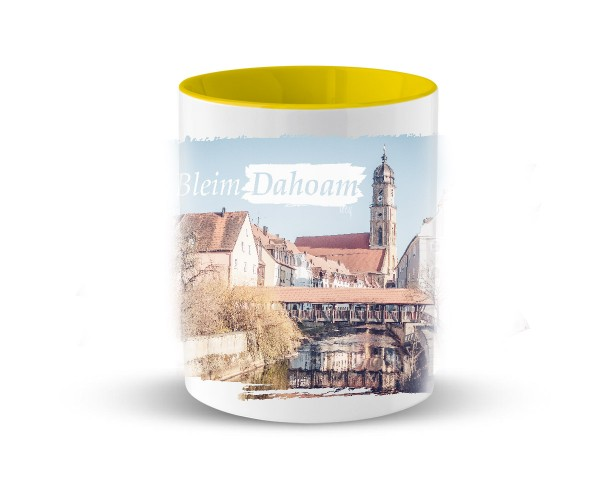Kaffeetasse I #MiaBleimDahoam   Bedruckt   Buntes Design