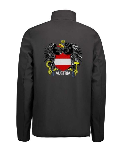 Softshell Herren div. Farben | Motiv: Österreich