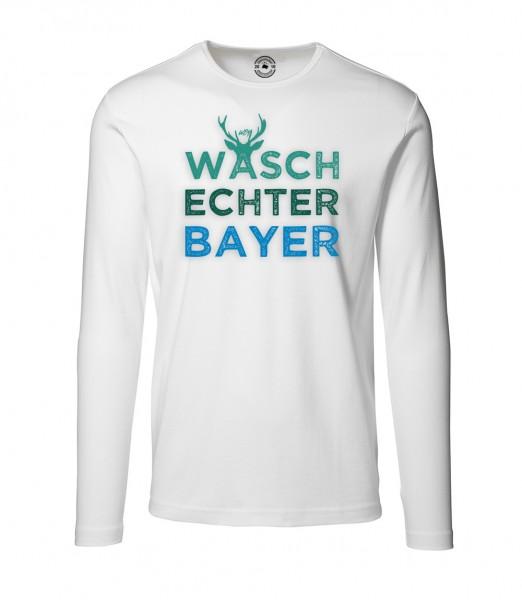 Herren Rundhals Shirt | Langarm – Interlock Jersey Motiv: Dreier-Pack