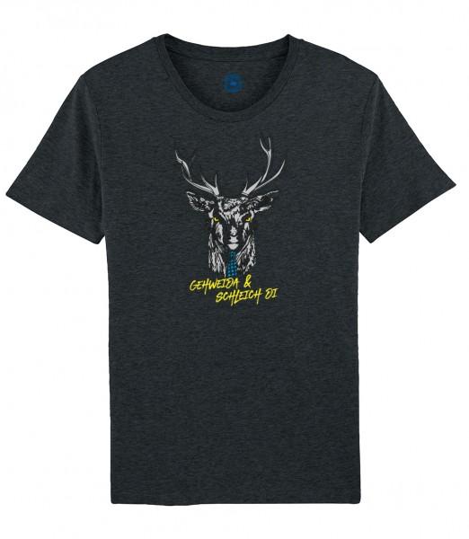 Herren Shirt Rundhals   Fair Wear   Motiv: Gehweida
