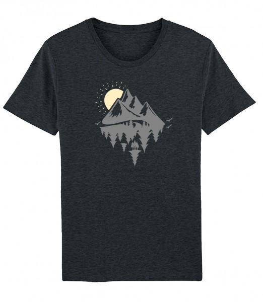 Herren Shirt Rundhals   Fair Wear   Motiv: Dahoam