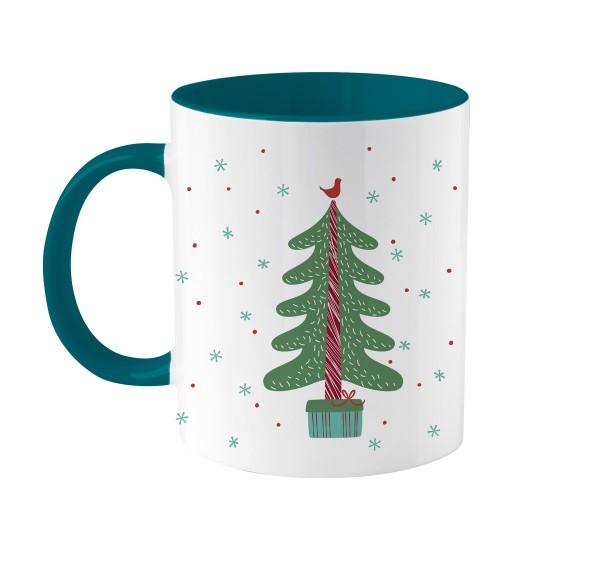 Weihnachtstasse | Eine Kleinigkeit | Bedruckt mit deinem Namen