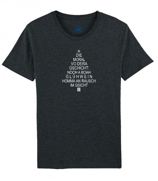 Herren T-Shirt Rundhals X-Mas Shirt | Motiv: Moral von dera Gschicht