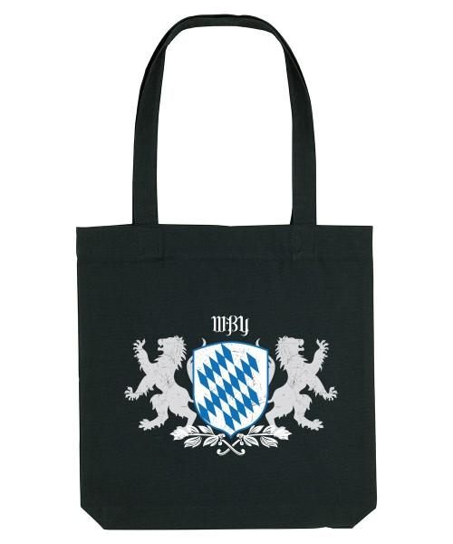 Canvas Tasche div. Farben | Fair Wear | Motiv: Bayern Wappen