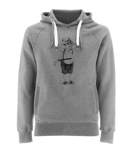 Kapuzenpullover Herren | Fair Wear | Motiv: BY-Watch